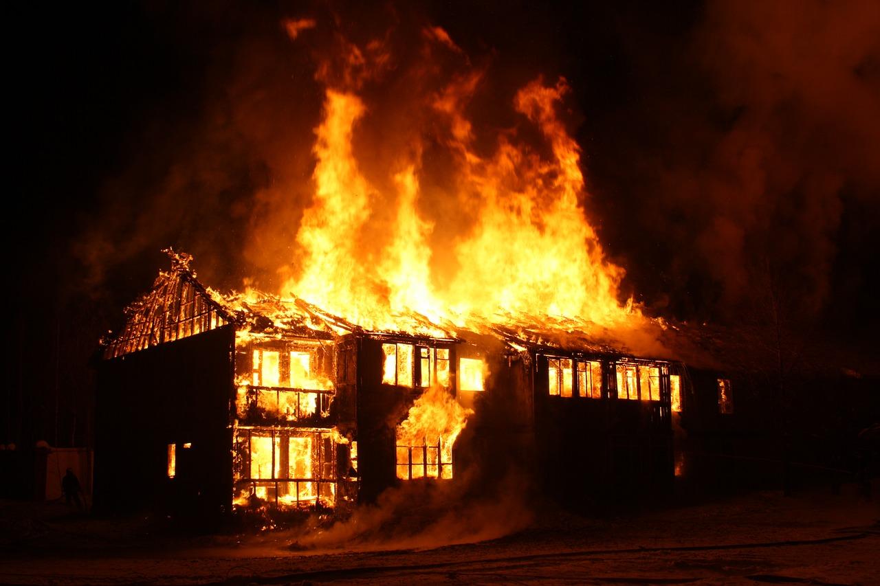 Gebäudebrandversicherung gegen Feuer